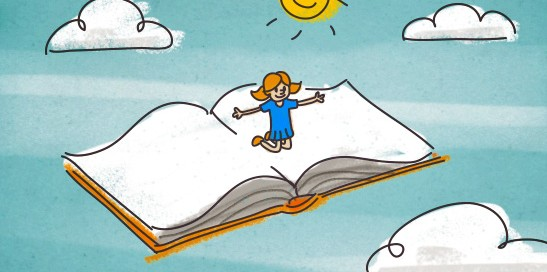 La lectura es fundamental en la educación de las personas.