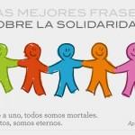 Las 5 mejores frases sobre la solidaridad