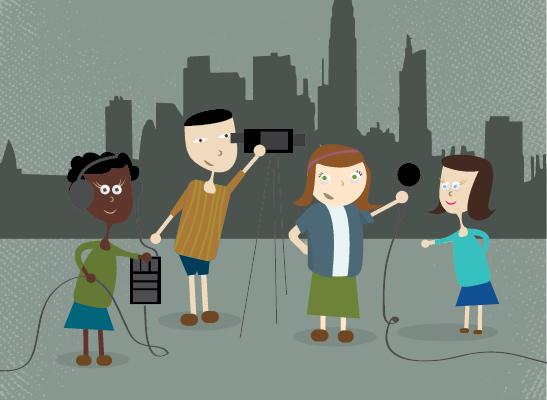 Creatividad audiovisual para niños
