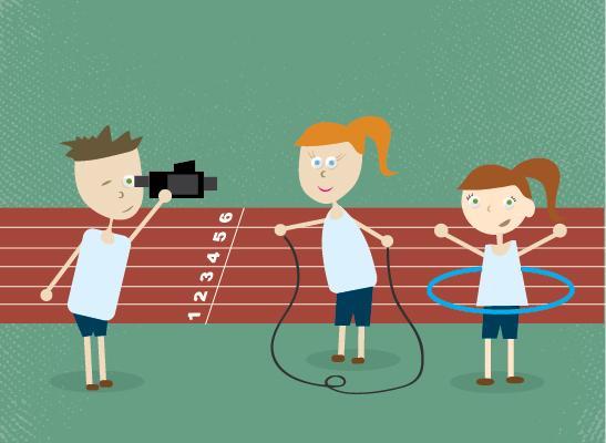 Mejorar la educación física con recursos didácticos