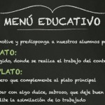 Un buen menú educativo