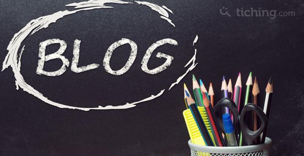 Blog en el aula | Tiching