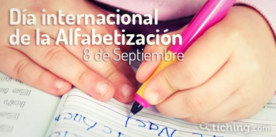 Dia Internacional Afabetizacion |Tiching