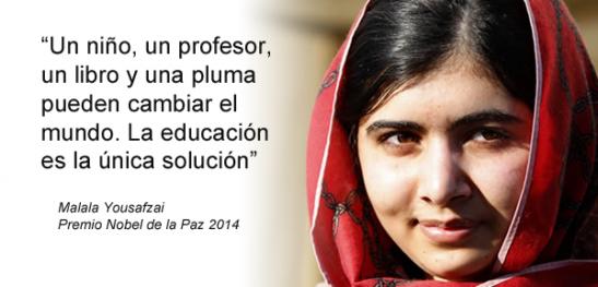 Frase Malala