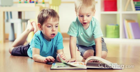 Libros para los que no saben leer |Tiching