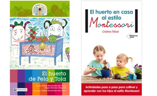 Libros huerto escolar |Tiching