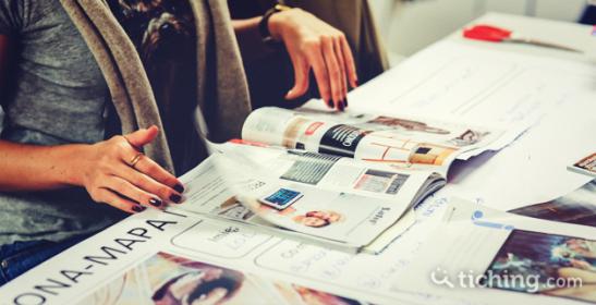 Periódicos en el aula |Tiching