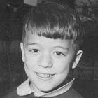 Imagen en blanco y negro de Fernando Cembranos de pequeño.