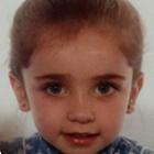 Imagen del rostro de Celia Rodríguez de pequeña