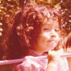 Imagen: Melina Furman de pequeña