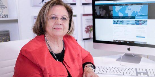 Pilar Martín Lobo adulta
