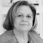 Pilar Martín Lobo en blanco y negro