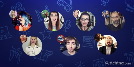 Imágenes de cada unos de los Youtubers de Arte que se recomiendan