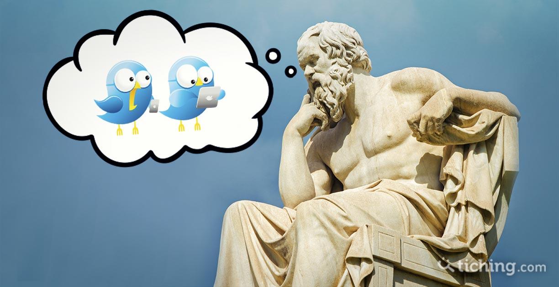 Twittear es filosofar