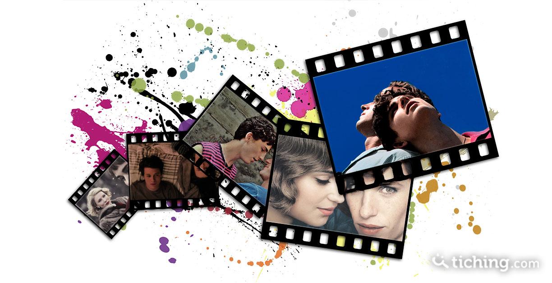 Fotogramas con las imágenes de algunas de las 10 películas para trabajar la diversidad sexual en el aula.