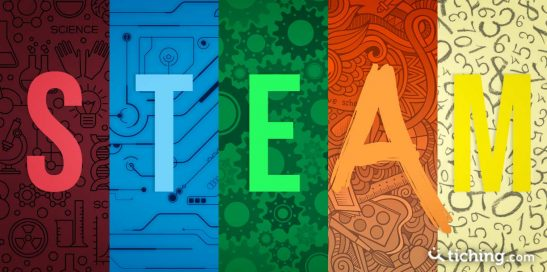 Educación STEAM (Science, Tech, Engineering, Art, Mathematics)