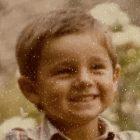 Imagen de Francisco Javier de pequeño