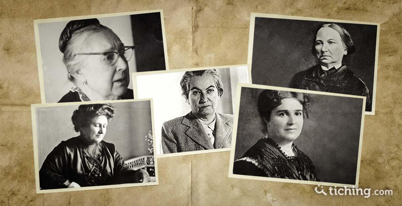 mujeres que marcaron la historia de la educación.