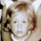 Leticia Garcés de pequeña