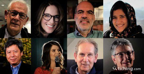 8 rostros de las primeras 8 entrevistas en el blog de Vicens Vives