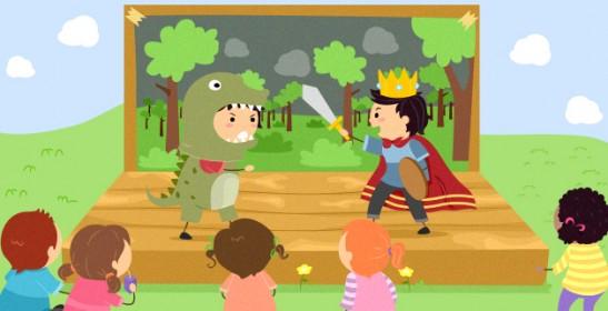clases de obras de teatro infantil